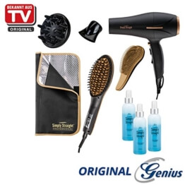 Genius Simply Straight Professional Deluxe, Set 9tlg.