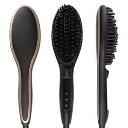 Haarglätter Bürste Minkle Professional